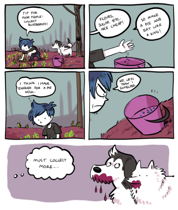 Blueberry comic.