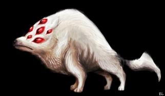 Monisilmäinen susi